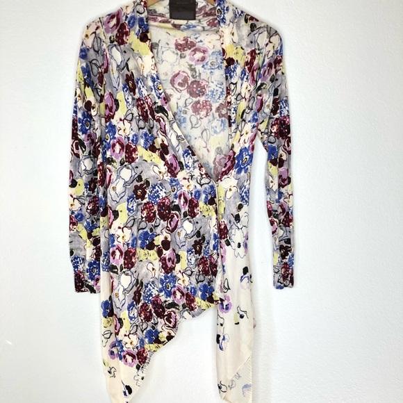 Stratus Draped Kimono